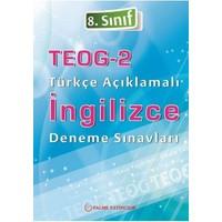 Palme 8.Sınıf Teog 2.Dönem Türkçe Açıklamalı İngilizce Deneme Seti