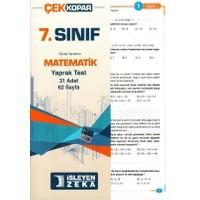 İşleyen Zeka 7. Sınıf Matematik Çek Kopart Yaprak Test