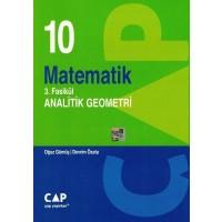 Çap Yayınları 10. Sınıf Matematik 3. Fasikül Analitik Geometri
