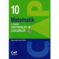 Çap Yayınları 10. Sınıf Matematik 4. Fasikül Dörtgen Ve Çokgenler