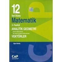 Çap Yayınları 12. Sınıf İleri Düzey Matematik 3. Fasikül Analitik Geometri Vektörler