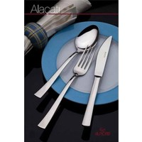 Almond Alaçatı Sade 12'Li Yemek Kaşığı