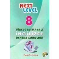 Palme 8. Sınıf Teog 1 Next Level Türkçe Açıklamalı İngilizce Deneme Sınavları