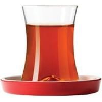 Koleksiyon İstanbul Kahvaltı Çay Seti 6 Lı Kırmızı 190 Cc