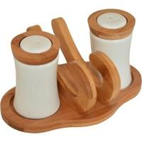 Bambum Chava - Peçetelikli Tuzluk Biberlik