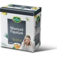 Akzer Biberiyeli Papatyali Çay 60Li Süzen Poşet