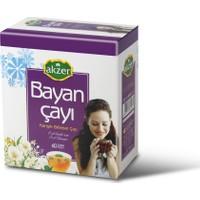 Akzer Bayan Çayı 60'Lı Süzen Poşet
