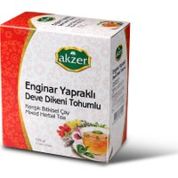 Akzer Enginar Yapraklı Deve Dikeni Tohumu Çay 60 Poset