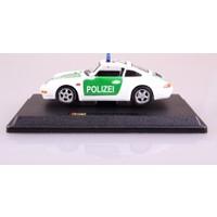 Burago Porsche 911 Carrera Otoban Polisi