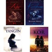 Binnur Nigiz Yangın Mavisi Serisi 4 Kitap