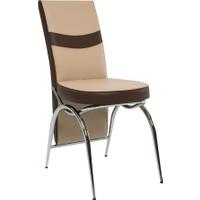 Gül Masa Sandalye 6 Adet C-Vizyon Sandalye Şık ve Zarif