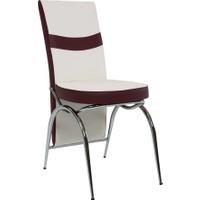 Gül Masa Sandalye 4 Adet C-Vizyon Sandalye Şık ve Zarif