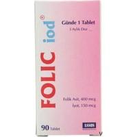 Pregniofol İyot Folic Acid 90 tb