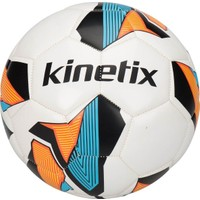 Kinetix Round Beyaz İndigo Turuncu Futbol Topu