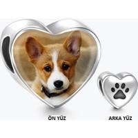 Soufeel Gümüş Pati Charm Köpeğinin Resmini Bileklik Kolye Olarak Oluştur