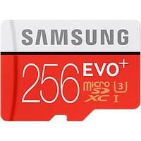 Samsung 256GB MicroSD Evo Plus Class10 U3 95 - 90mb/sn Hafıza Kartı + SD Adaptör MB-MC256DA/EU
