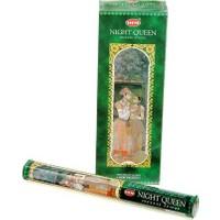 Hem Night Queen Incense Sticks - Gecenin Kraliçesi Tütsü 20 Adet