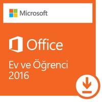Microsoft Office Ev ve Öğrenci 2016 (Dijital İndirilebilir Lisans)