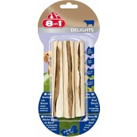 8 İn 1 Delights Sticks Biftekli 3'lü Stik Ağız Temizleme Kemiği 75 Gr