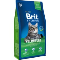 Brit Premium Sterilised Kisirlaştirilmiş Kedi Maması 8 Kg