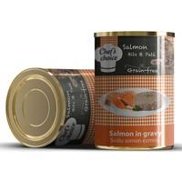 Chefs Choice Soslu Kıyılmış Somon Balıklı Konserve Kedi Maması 400 Gr