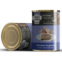 Chefs Choice Soslu Kıyılmış Tavuk Etli Konserve Kedi Maması 400 Gr