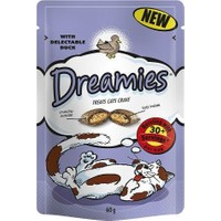 Dreamies İçi Dolgulu Ördekli Kitir Kedi Ödülü 60 Gr