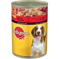 Pedigree Sığır Etli Biftekli Konserve Köpek Maması 400 Gr