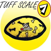Tuffy Jr. Odd Ball Sarı Kemik Desenli Peluş Köpek Oyuncağı