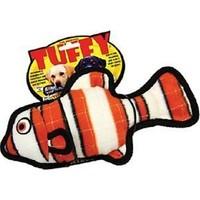 Tuffy Ocean Creature Jr. Fish Orange Peluş Köpek Oyuncağı