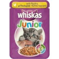 Whiskas Pouch Junior Tavuklu Yavru Kedi Konservesi 100 Gr