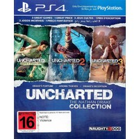 Naughty dog Uncharted The Nathan Drake Collection Ps4(Türkçe Altyazı)