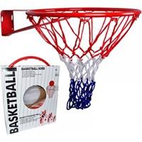 Leyaton Basketbol Çemberi Tek Katlı Fileli