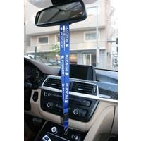 Boostzone Peugeot Ayna Boyun Askı İpi Anahtarlık Mavi