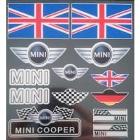 Boostzone Mini Cooper Sticker Set