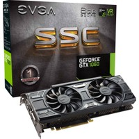 EVGA Nvidia GeForce GTX 1060 SSC GAMING ACX 3.0 6GB 192Bit GDDR5 (DX12) PCI-E 3.0 Ekran Kartı 06G-P4-6267-KR