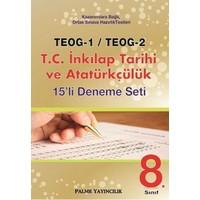 Palme Yayıncılık TEOG 1 TEOG 2 T.C. İnkılap Tarihi ve Atatürkçülük 15 Deneme
