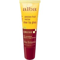 Alba Botanica Passion Fruit Nectar Clear Lip Gloss 12 gr