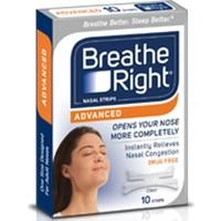 Breathe Right Advanced Burun Bandı 10'lu Paket
