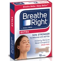 Breathe Right Extra Burun Bandı 10Lu Paket