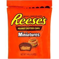 Reese's Miniatures Sütlü Çikolata Kaplı Fıstık Ezmesi 140 gr