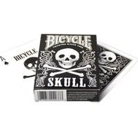 Bicycle Skull Poker İskambil Oyun Kartı Kağıdı Destesi Koleksiyonluk Cardistry Kartları