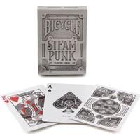 Bicycle Steampunk Silver Gümüş Poker İskambil Oyun Kartı Kağıdı Destesi Koleksiyonluk Cardistry Kartları