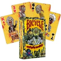 Bicycle Everyday Zombies Poker İskambil Oyun Kartı Kağıdı Destesi Koleksiyonluk Cardistry Kartları
