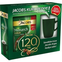 Jacobs Monarch Gold Kahve 200 GR + Kupa