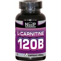 Nop Naturel NOP Nutrition L-Carnitine 120B Vitamin B6 120 Kapsül x 650mg