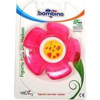 Bambino Çiçek Figürlü Sulu Diş Halkası