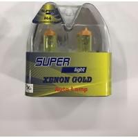 Xenon Gold H4 Super Light 12V 100/90 P43T