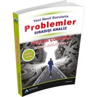 Sıradışı Analiz Yeni Nesil Sorularla Problemler Tamamı Çözümlü Konu Anlatımlı