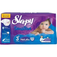 Sleepy Jumbo Pk No:3+ (5-10Kg) 50 Adet Midi Plus